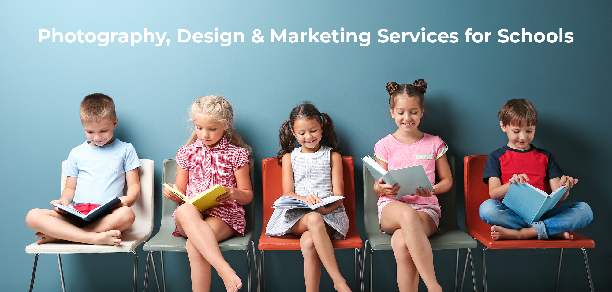 Photography, Design & Marketing Services for Schools