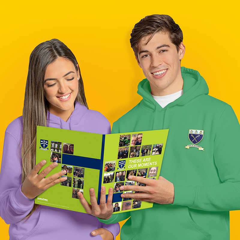 Yearbooks and Hoodies