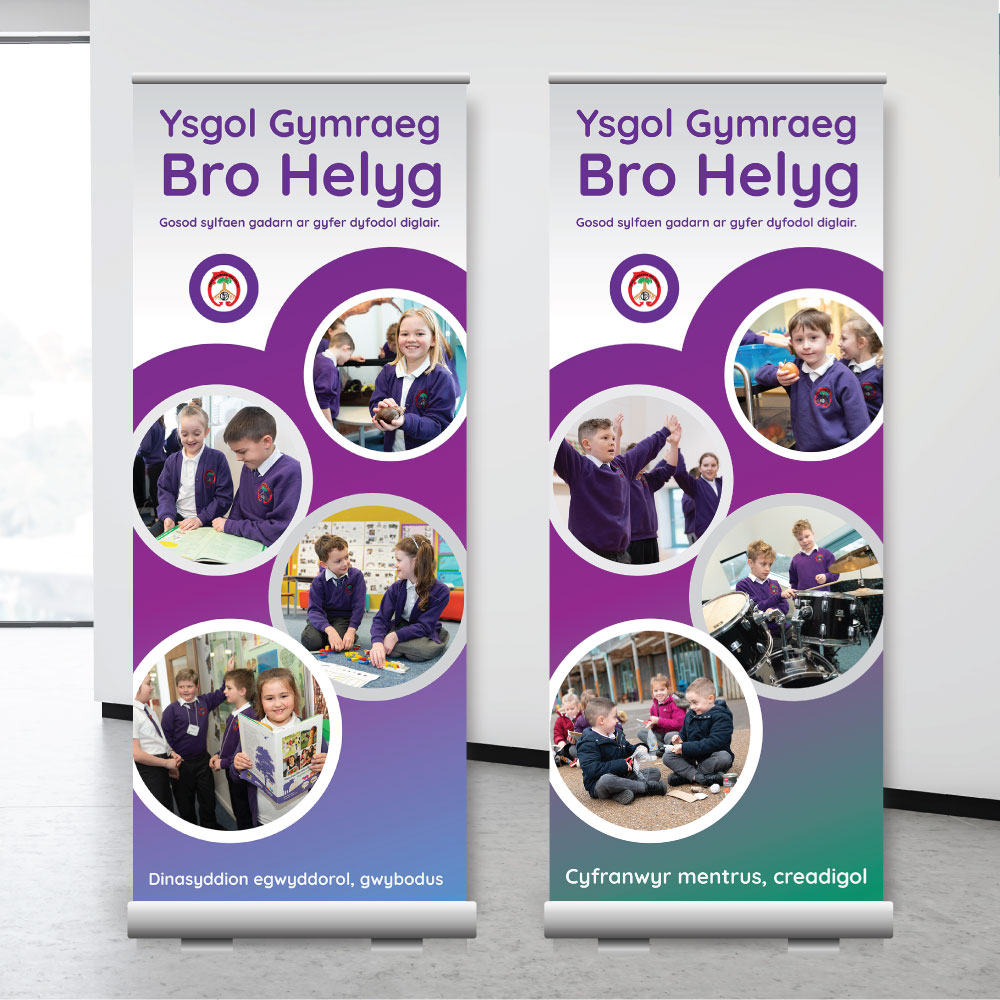 Curriculum for Wales Roller Banners