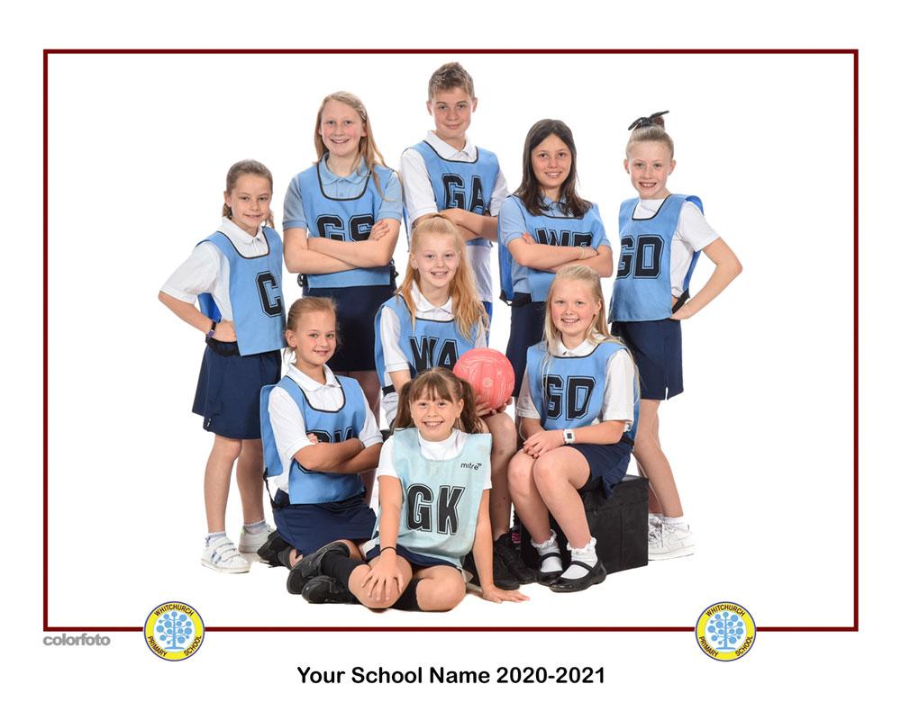 School sports team photos